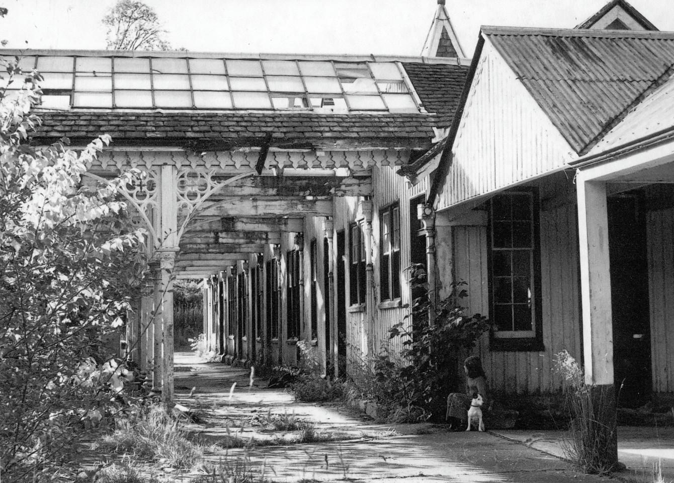The old Strathpeffer train station