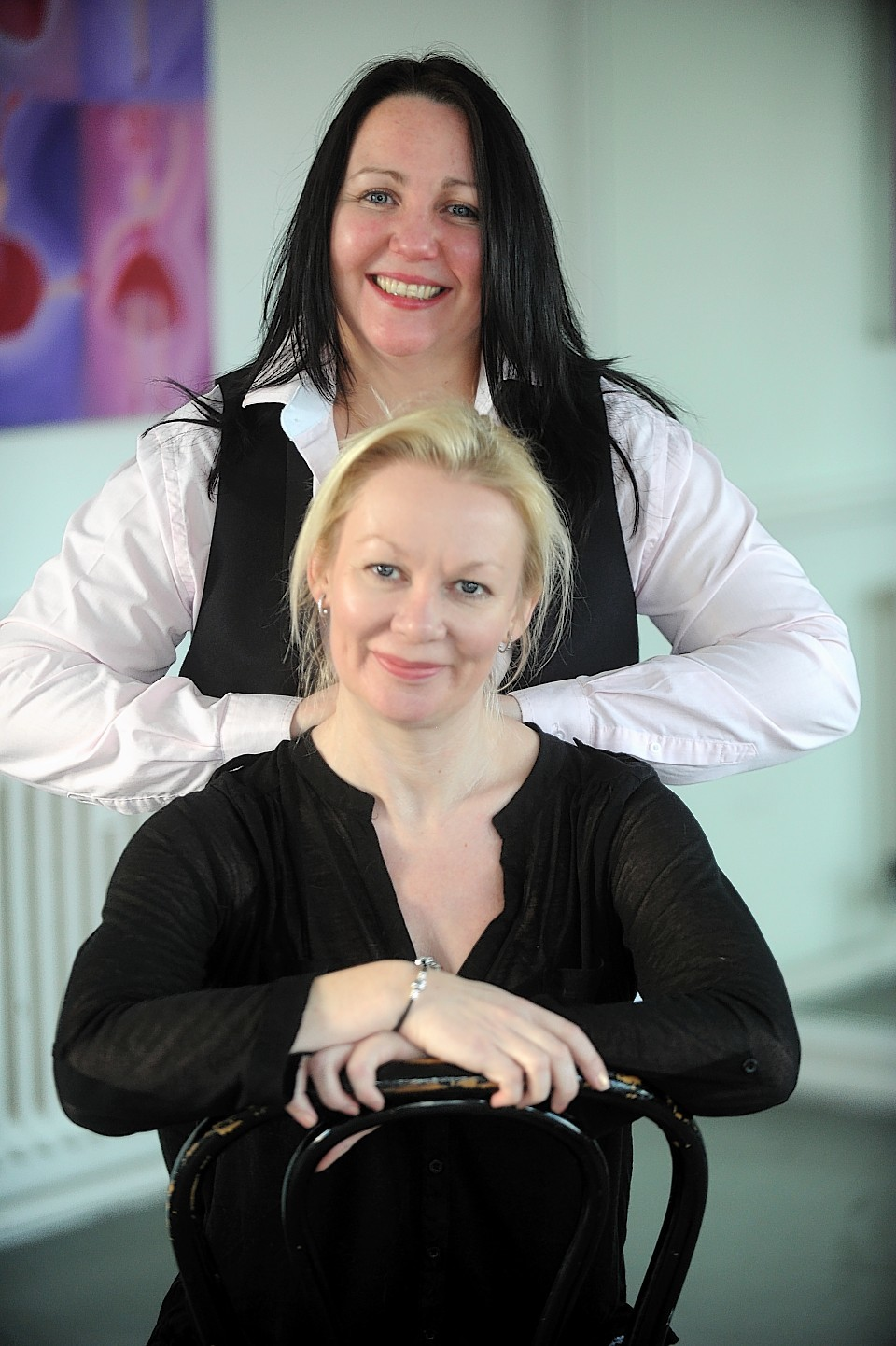Tish Tindall and Diane Aspinall