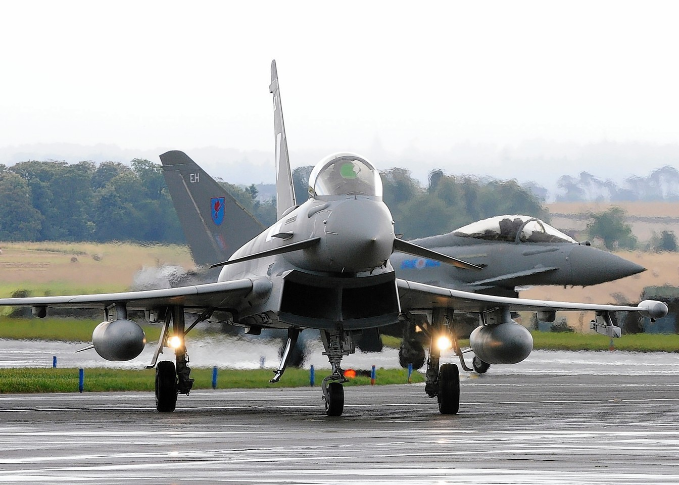 Typhoons from RAF Lossiemouth