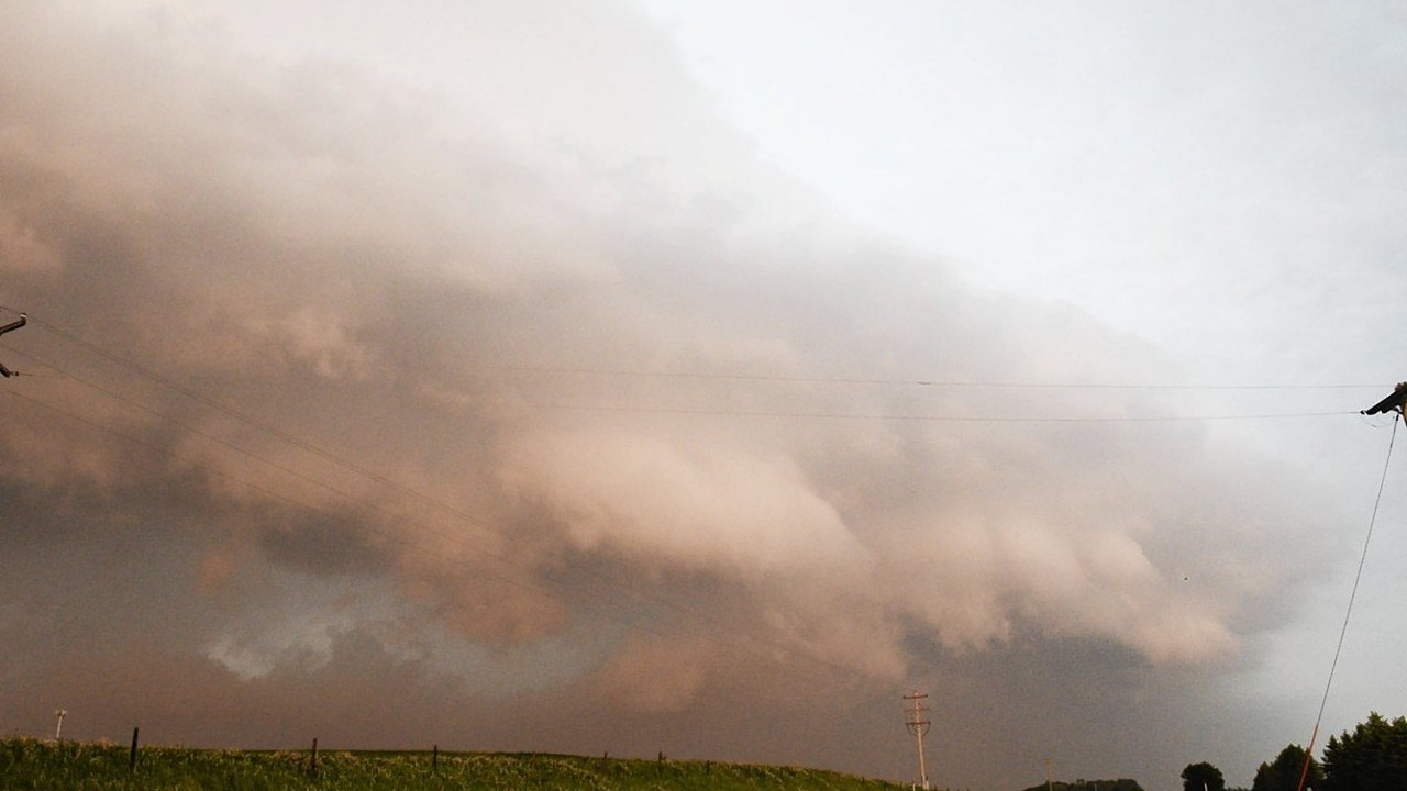 Severe weather rolled into Nebraska and Iowa on Tuesday as potentially dangerous storms targeted a swath of the Midwest.