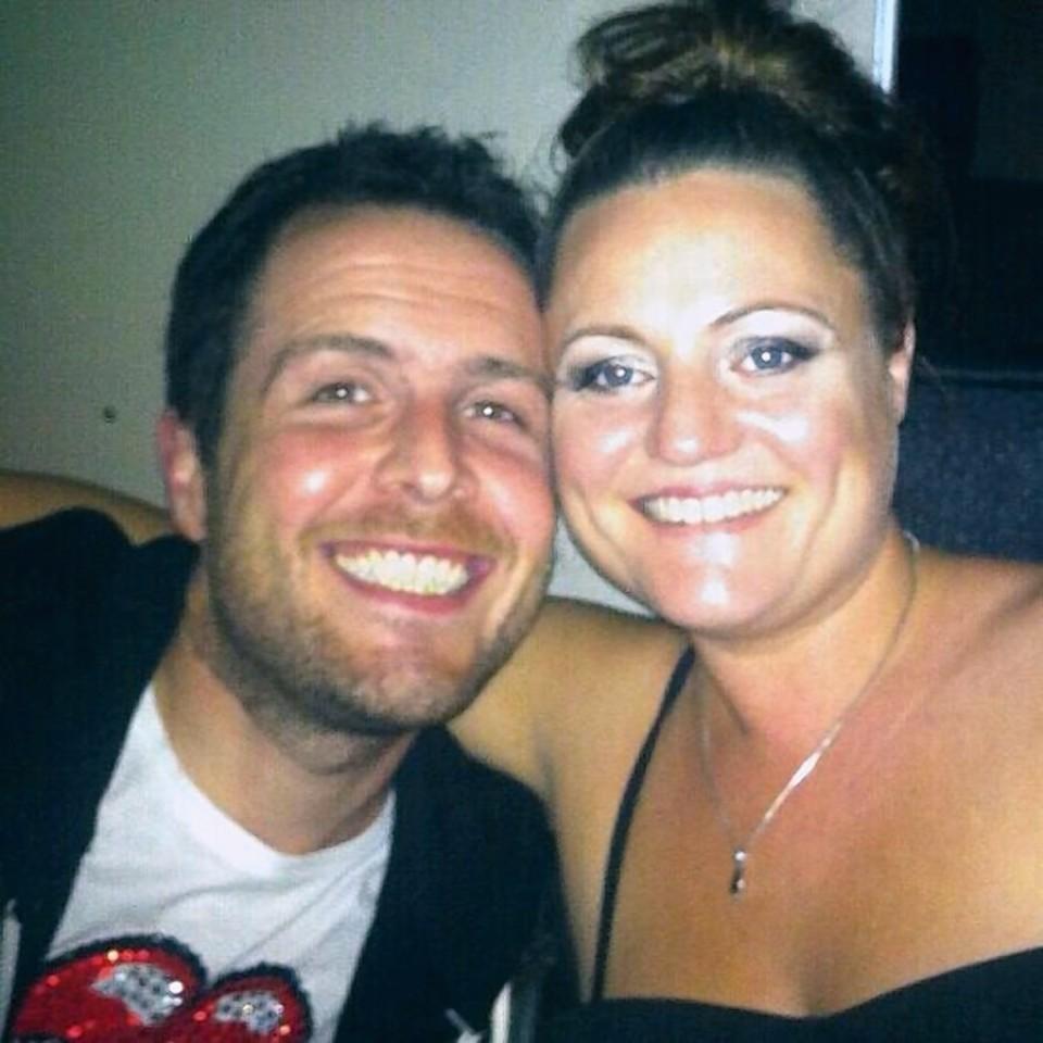 Matt Duthie and Lindsey Cooper