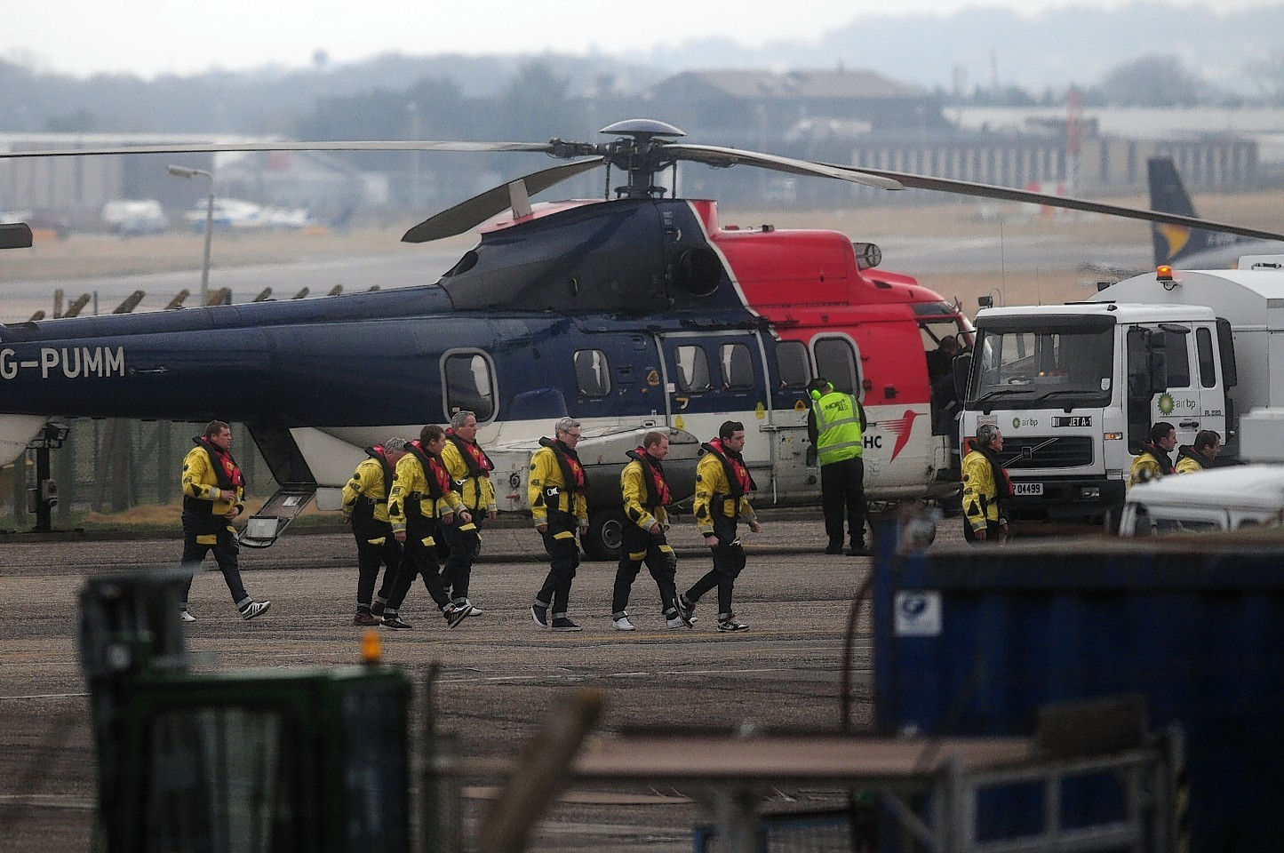 Offshore helicopter flights are carrying heavier loads