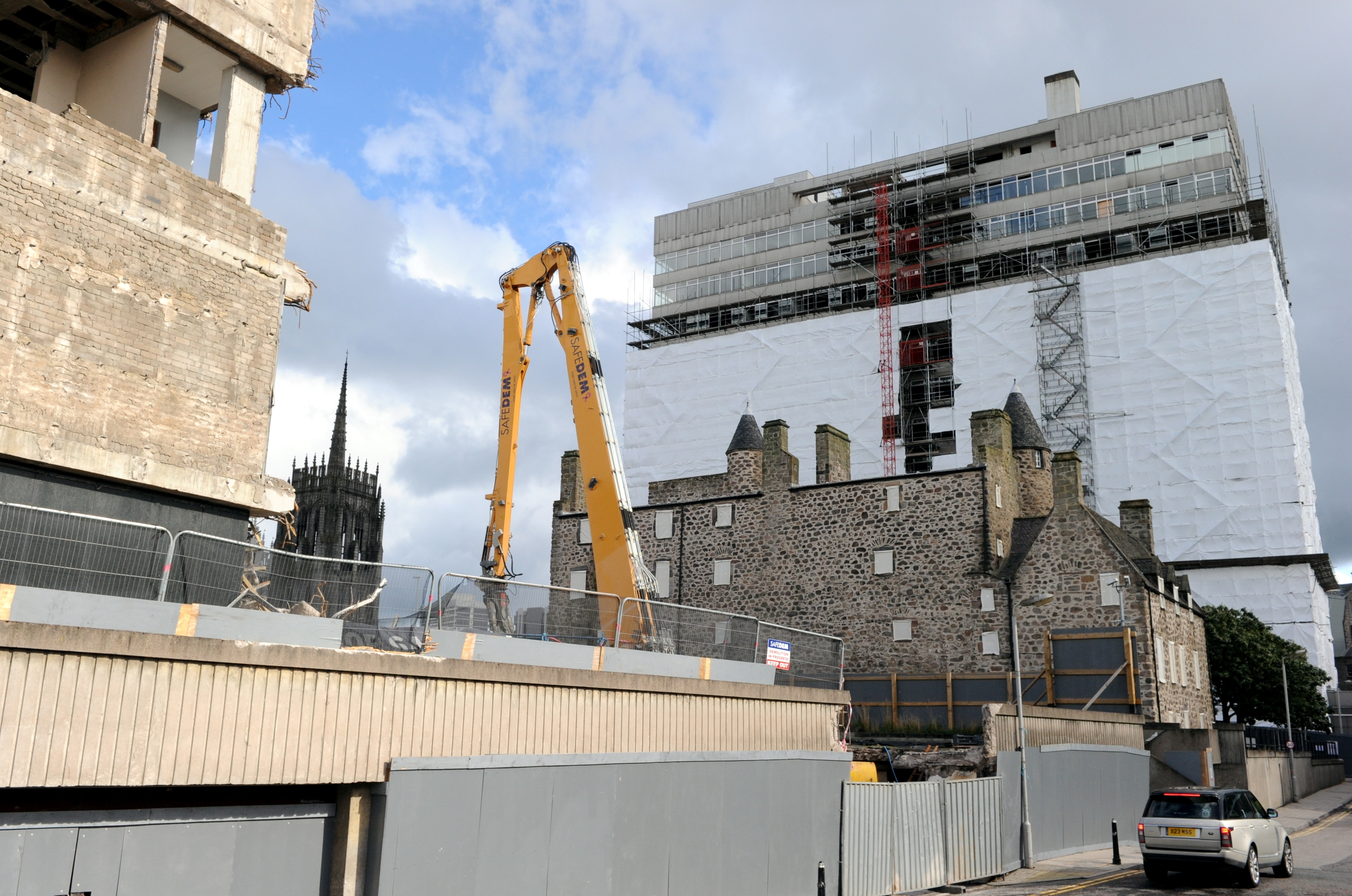 Demolition of St Nicholas House was delayed