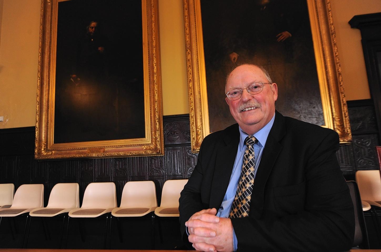Cllr Ian Tait in the Saltoun Square chamber