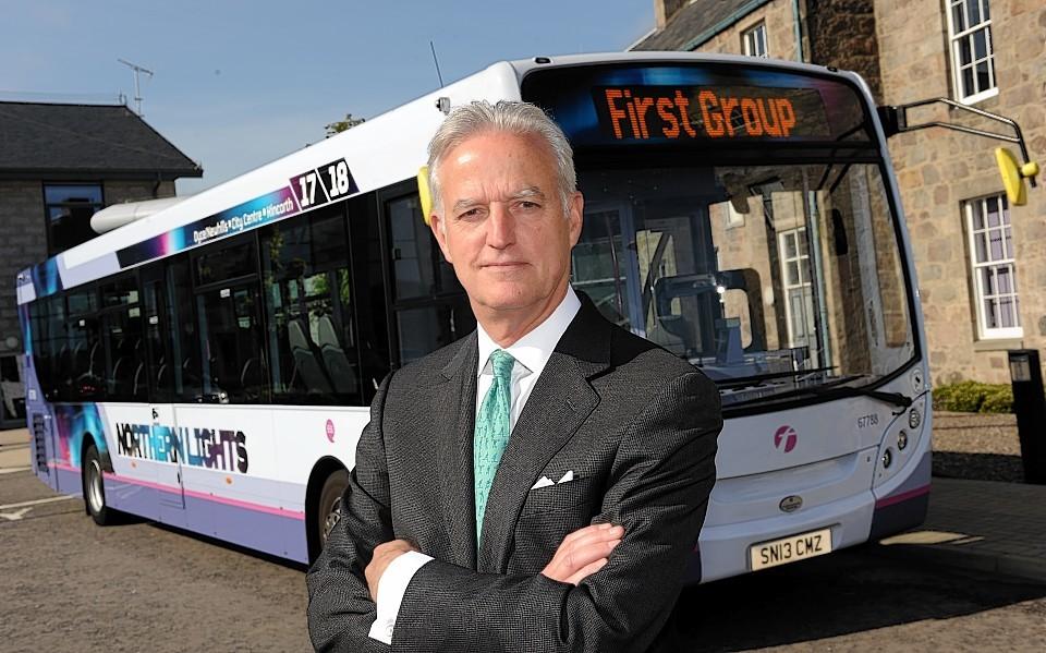 FirstGroup chief executive Tim O'Toole