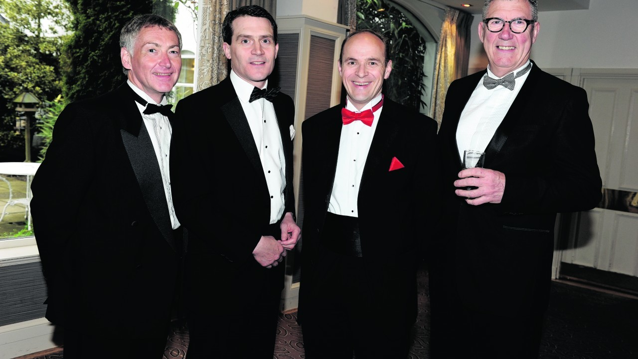 Raymond Edgor, Stuart Young, Peter Thain and Charles Smith.