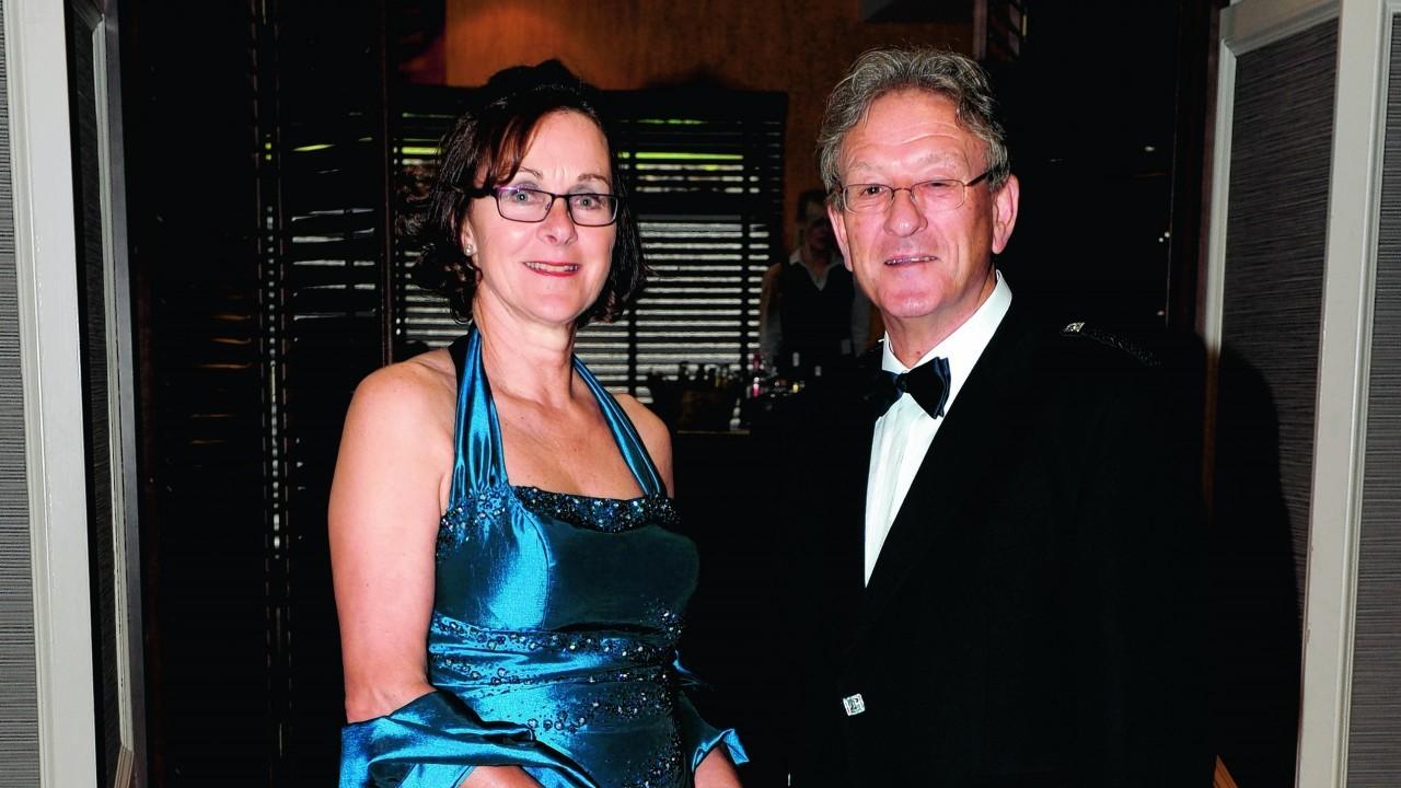 Anne-Marie and Ian Fegen.