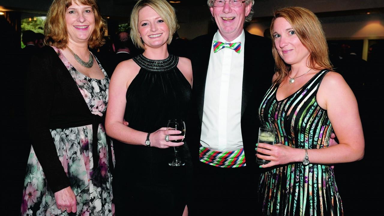 Sarah Innes, Lynne Morrison, Adrian Atkinson and Sarah Newman-Holdan.