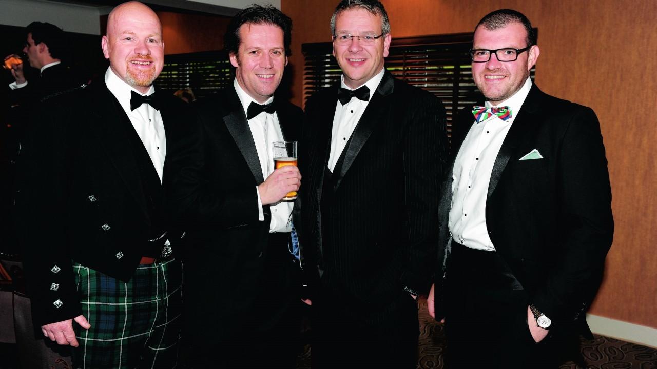 Gregor Kelly, David MacLeod, Jamie Ritchie and Jon Nesbitt.
