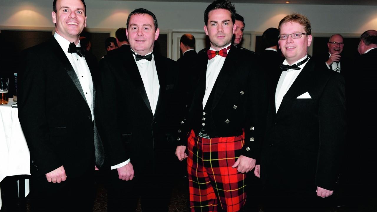 Neil Brady, Neil McIntyre, Craig Melville and Chris Bain.