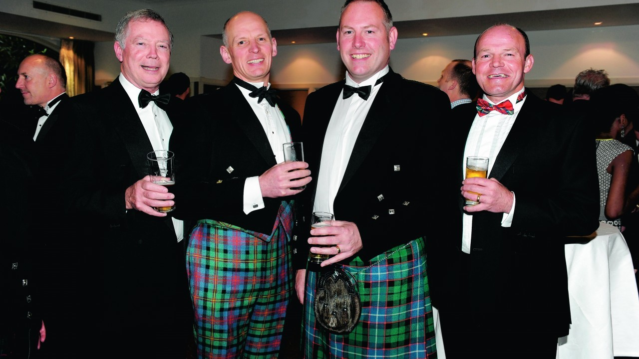 Tom Robertson, Guy Logan, James Mitchell and Tom Gilchrist.