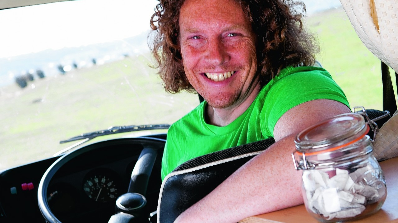 TV personality Martin Dorey from BBC2's popular show, One Man and His Campervan