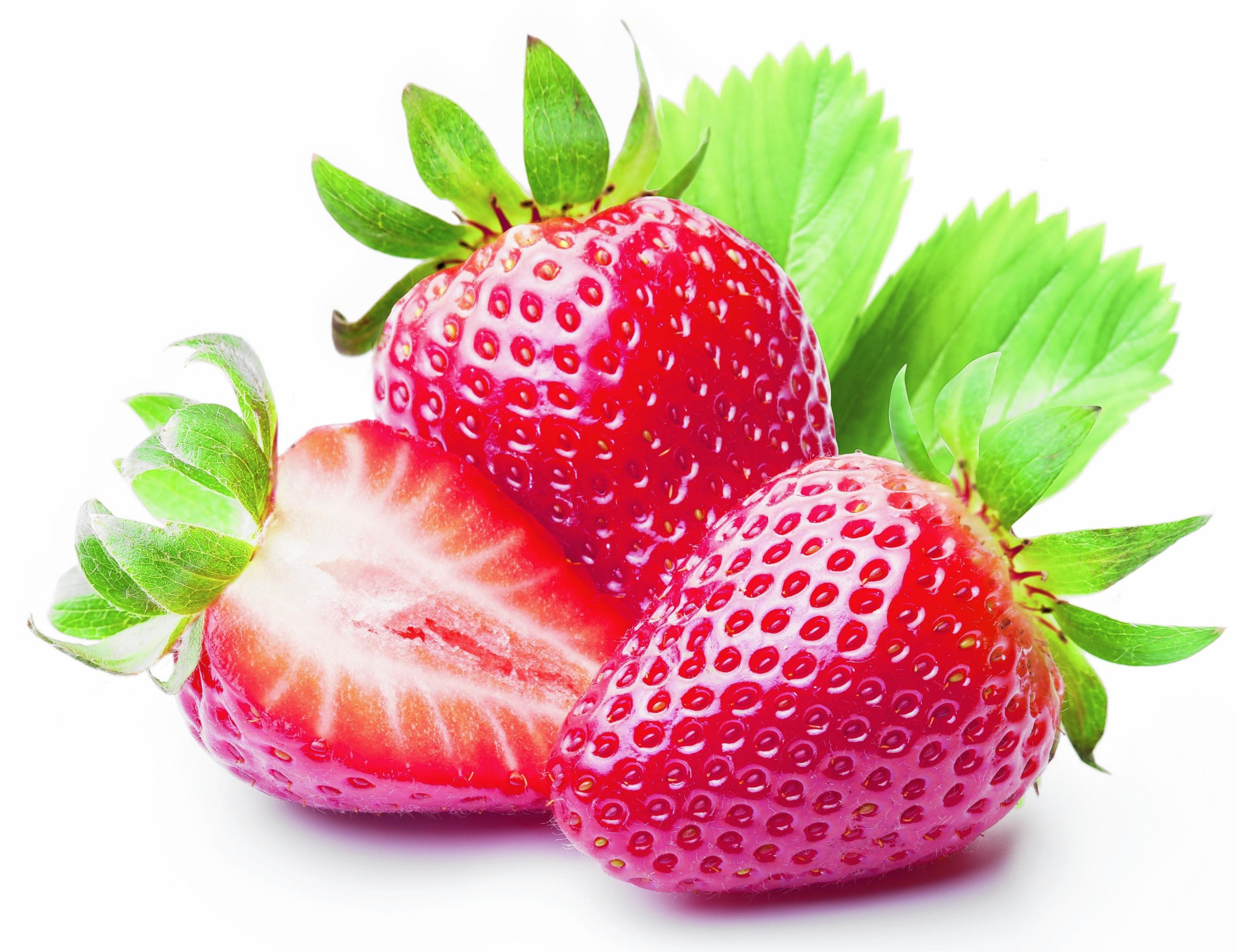 More strawberries and raspberries were grown last year