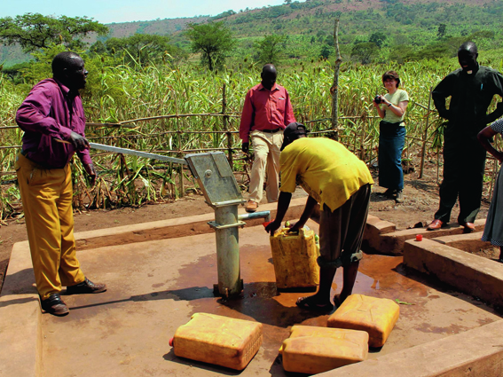 Tumaini Scotland hope to have dug 40 shallow wells, which each serve about 2,500 people, by the end of 2015