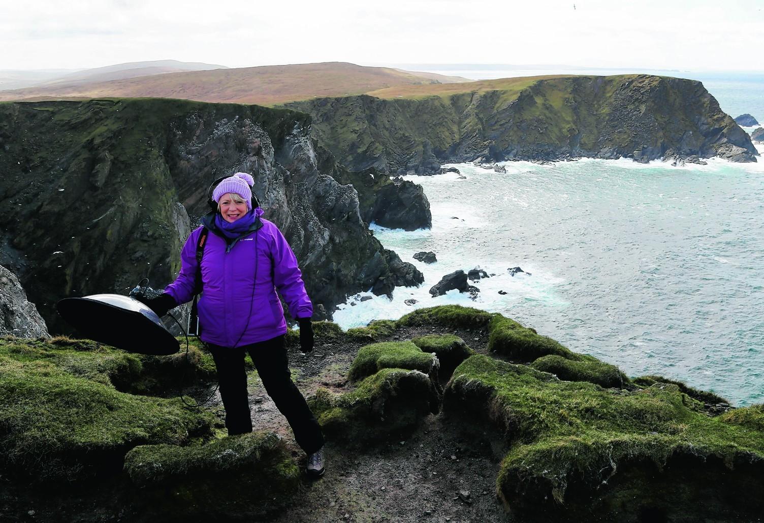 Alison Steadman visited Shetland for a new ITV documentary