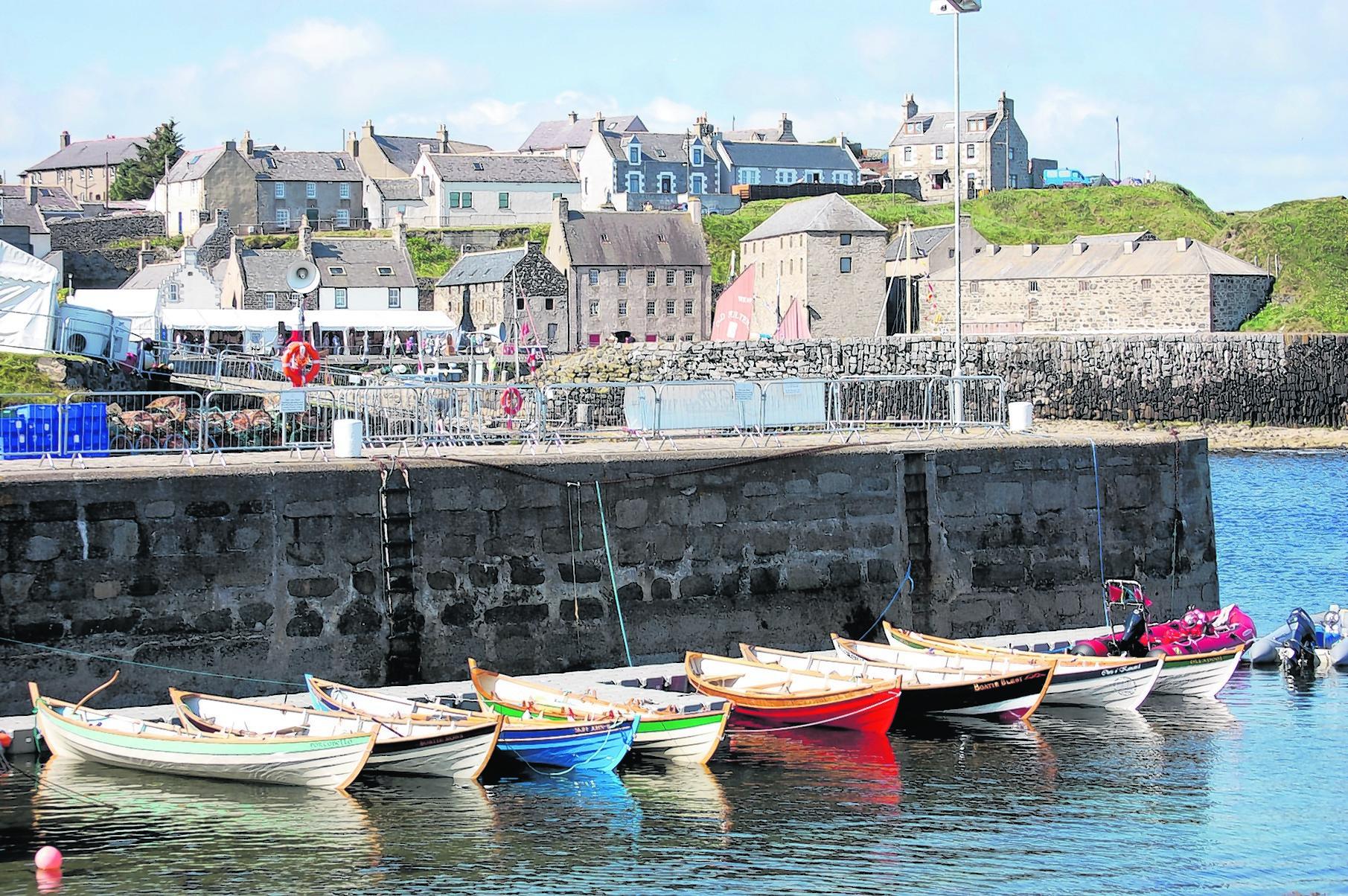 Aberdeen Asset Management Scottish Traditional Boat Festival,  Portsoy