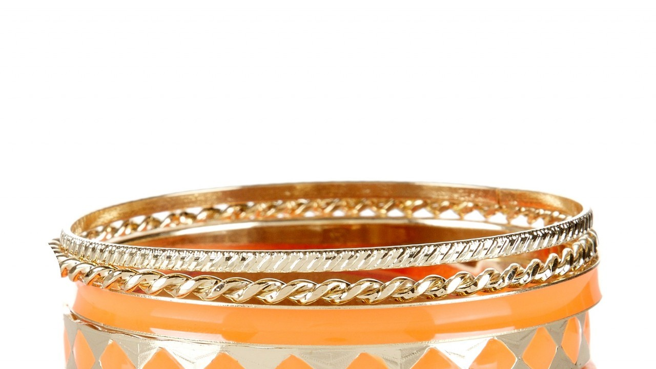 Bangles, £4.99, from New Look