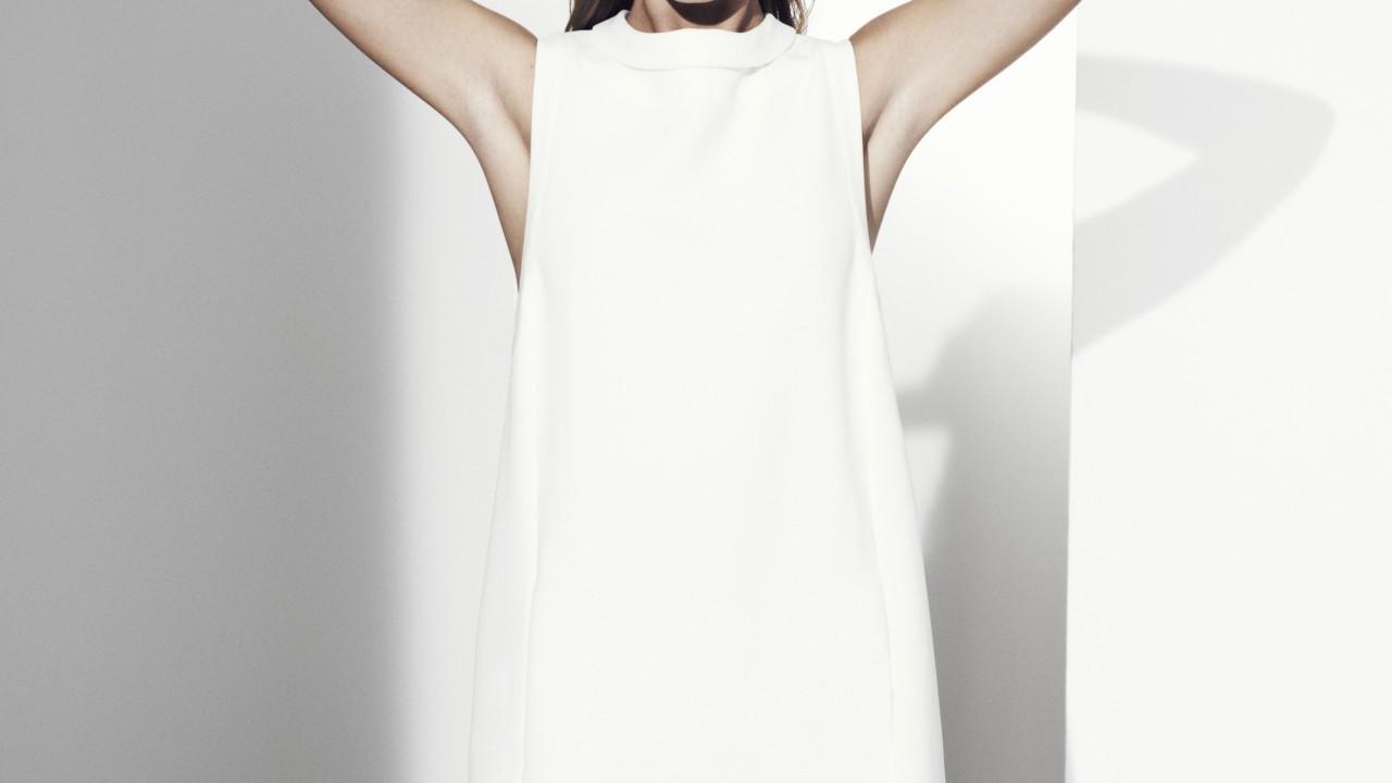 Autograph white dress £69 Marks & Spencer