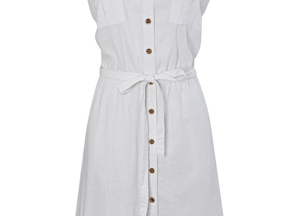BHS white shirt dress £26