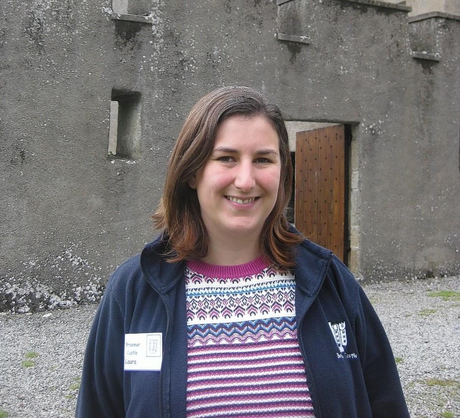 Laura McMeekin at Braemar Castle