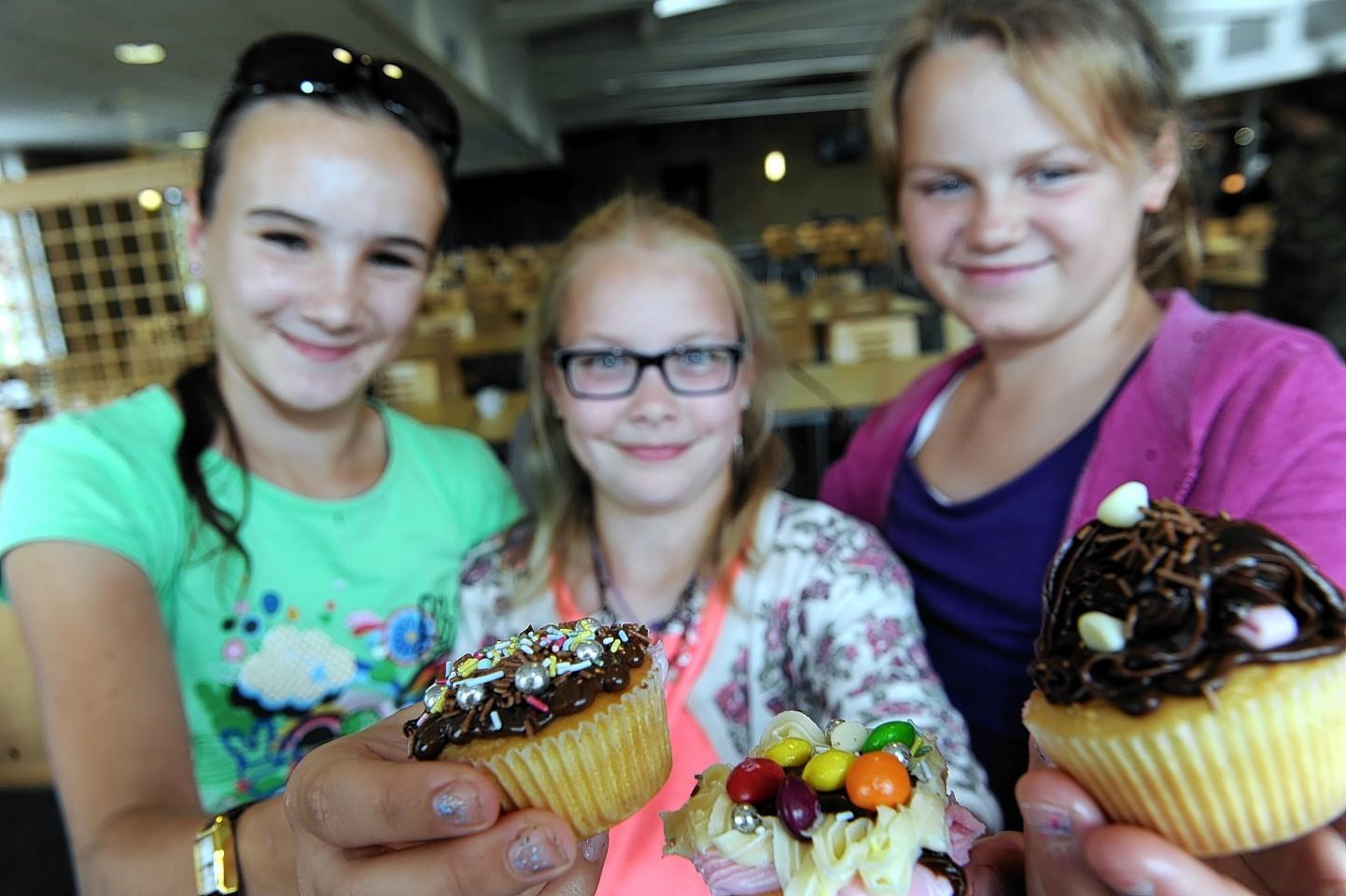 Chernobyl children visit Kinloss