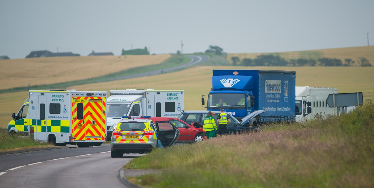 Toll of Birness crash. Picture credit: Jeanette Baxendale