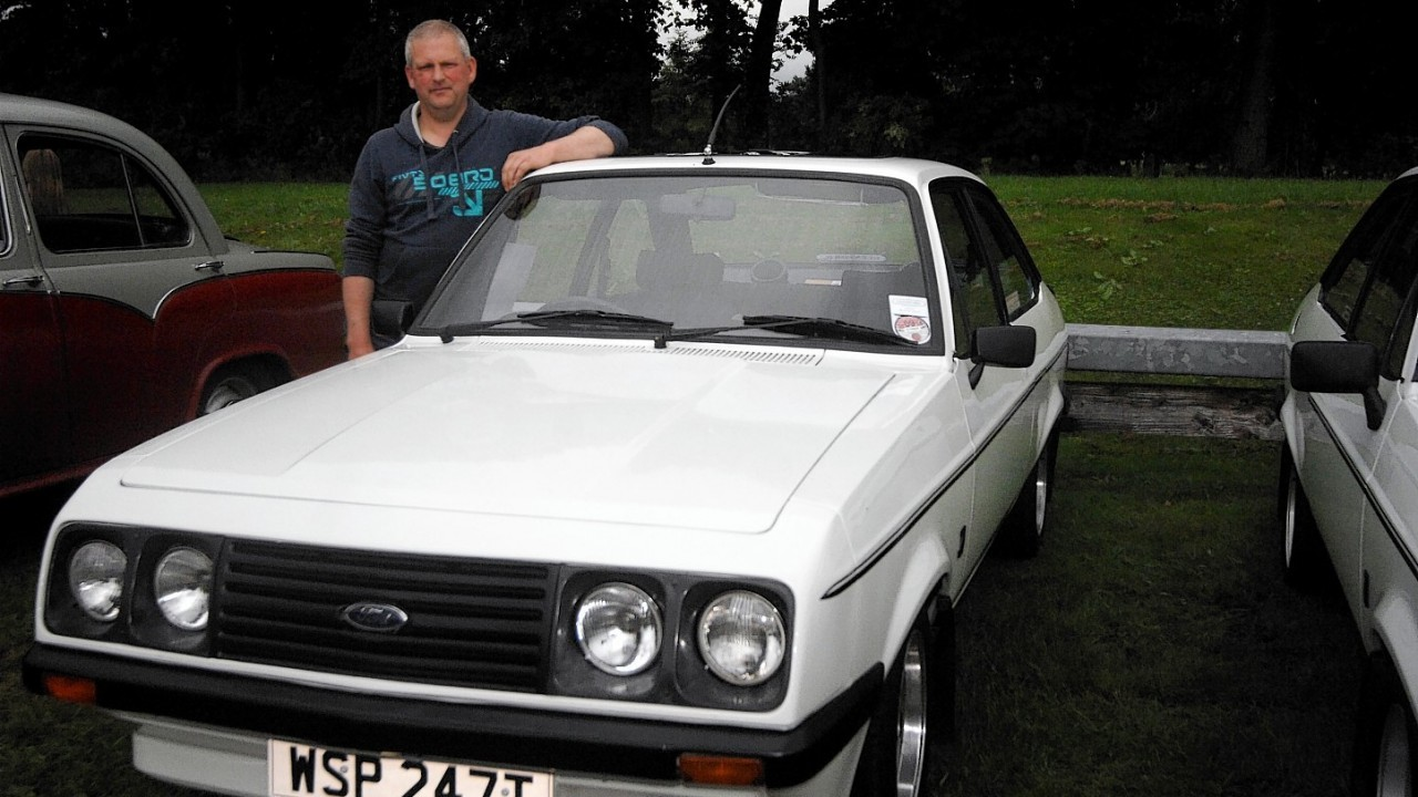 Dave Beats with his Ford RS 2000