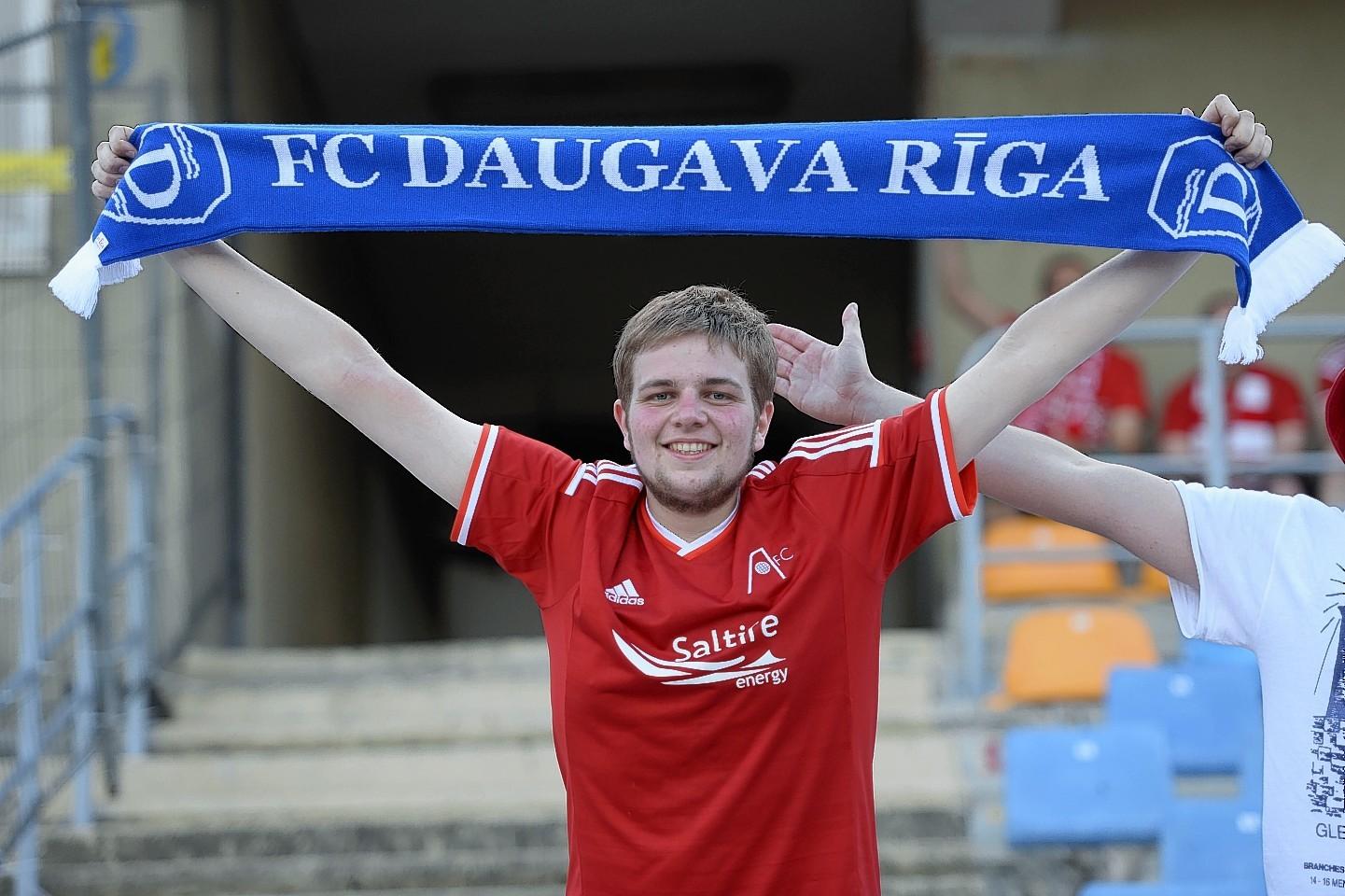 Dons fans in Riga