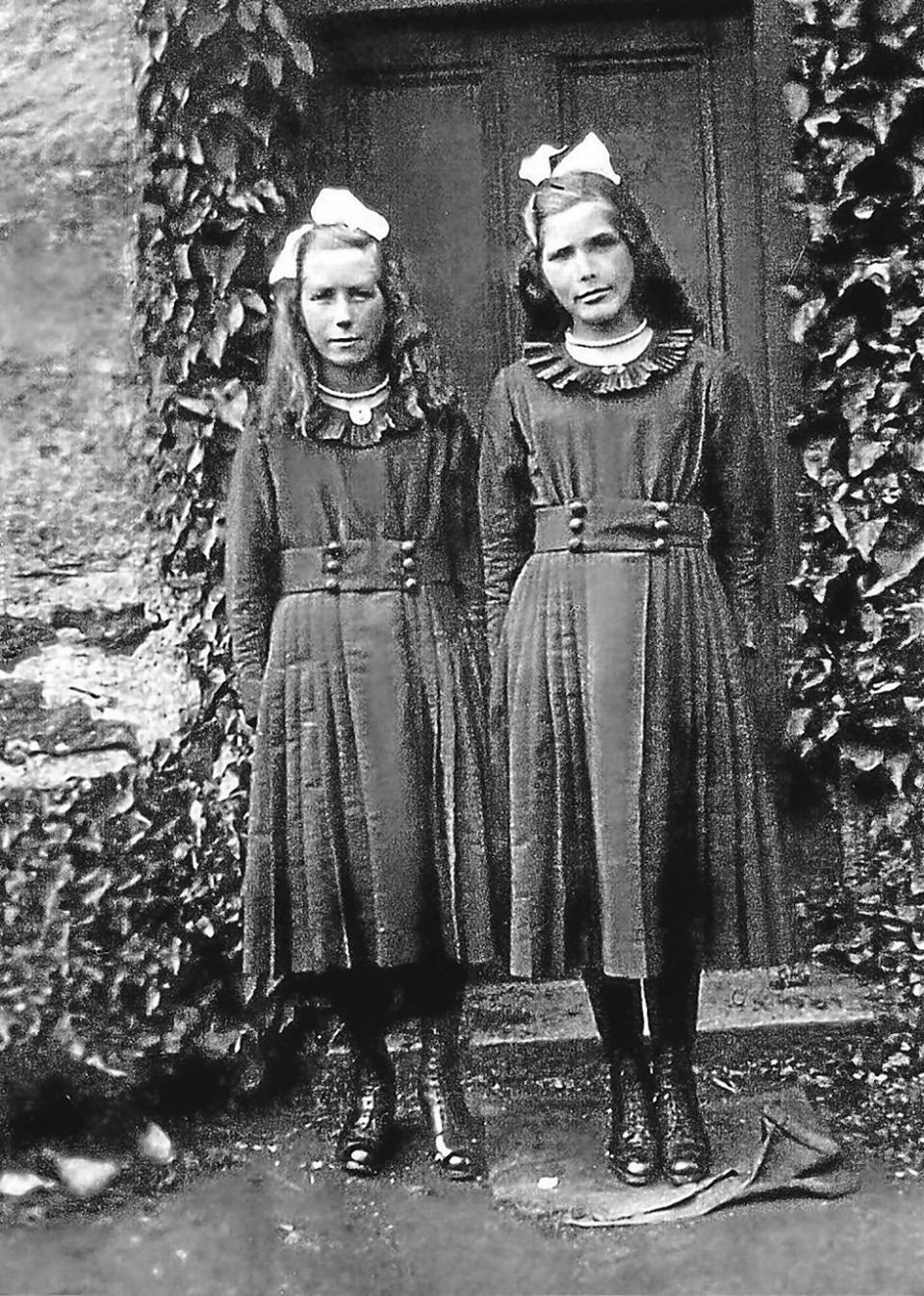 World's oldest twins Evelyn Middleton and Edith Ritchie