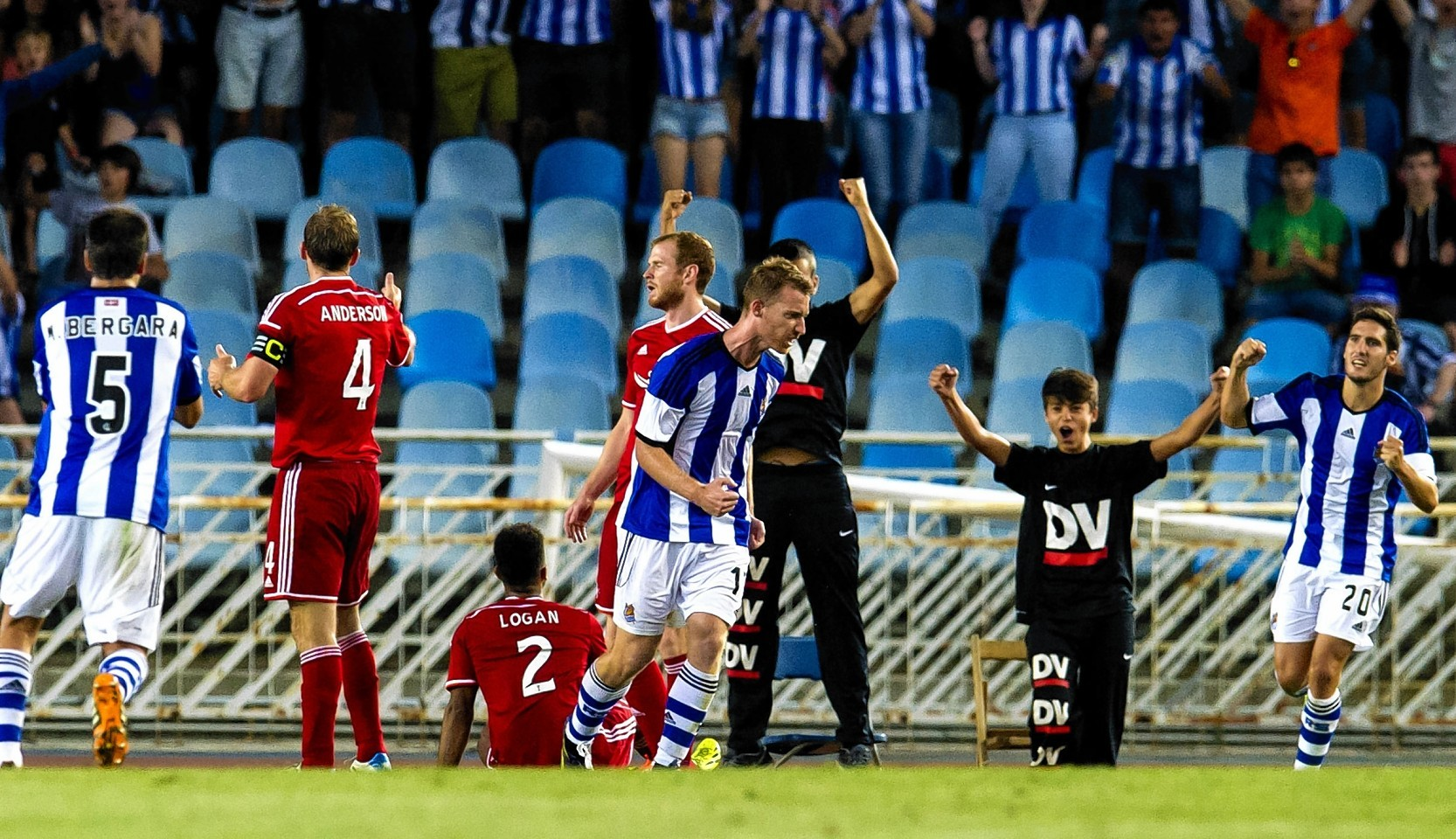Real Sociedad score against the Dons