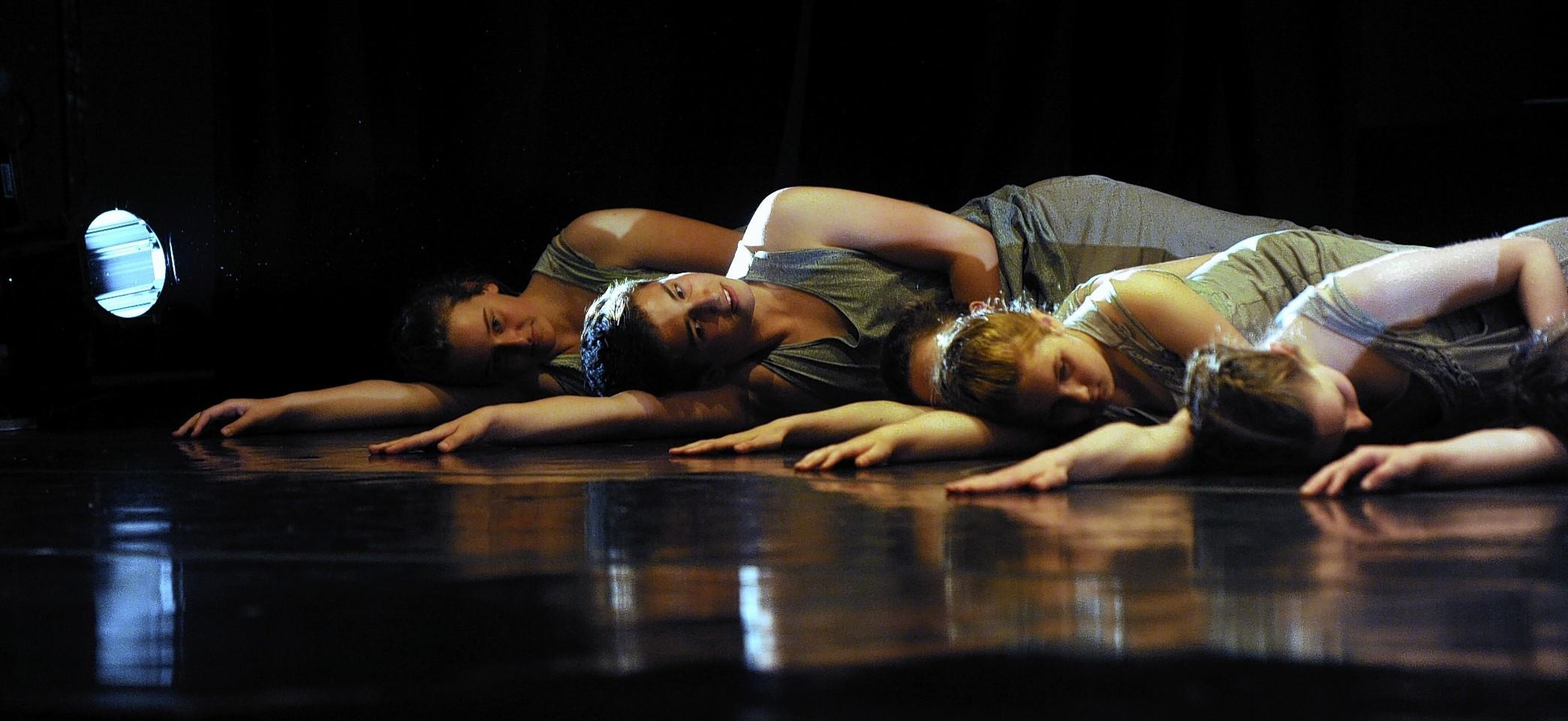 The Four Season performance at ACT Aberdeen, an AIYF pre-festival performance. Credit: Colin Rennie.
