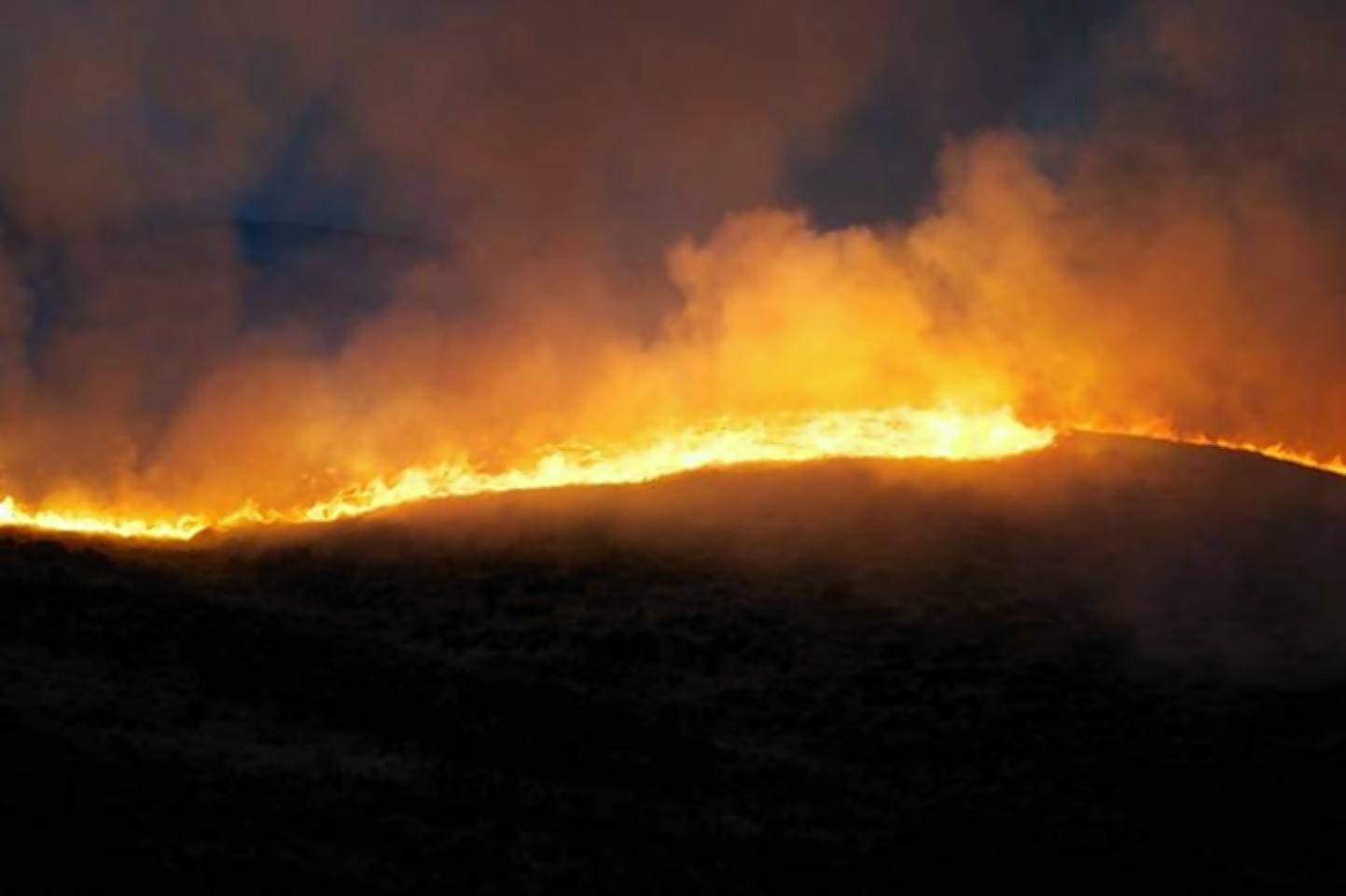Glen Tarbet wildfire