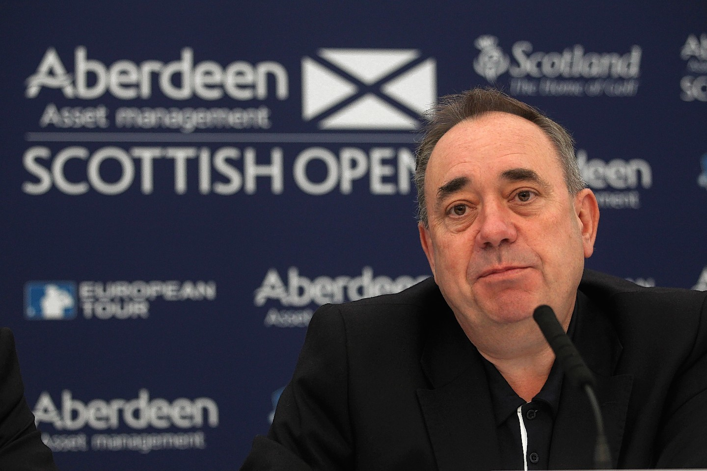 Alex Salmond announces the return of the Scottish Open to Castle Stuart
