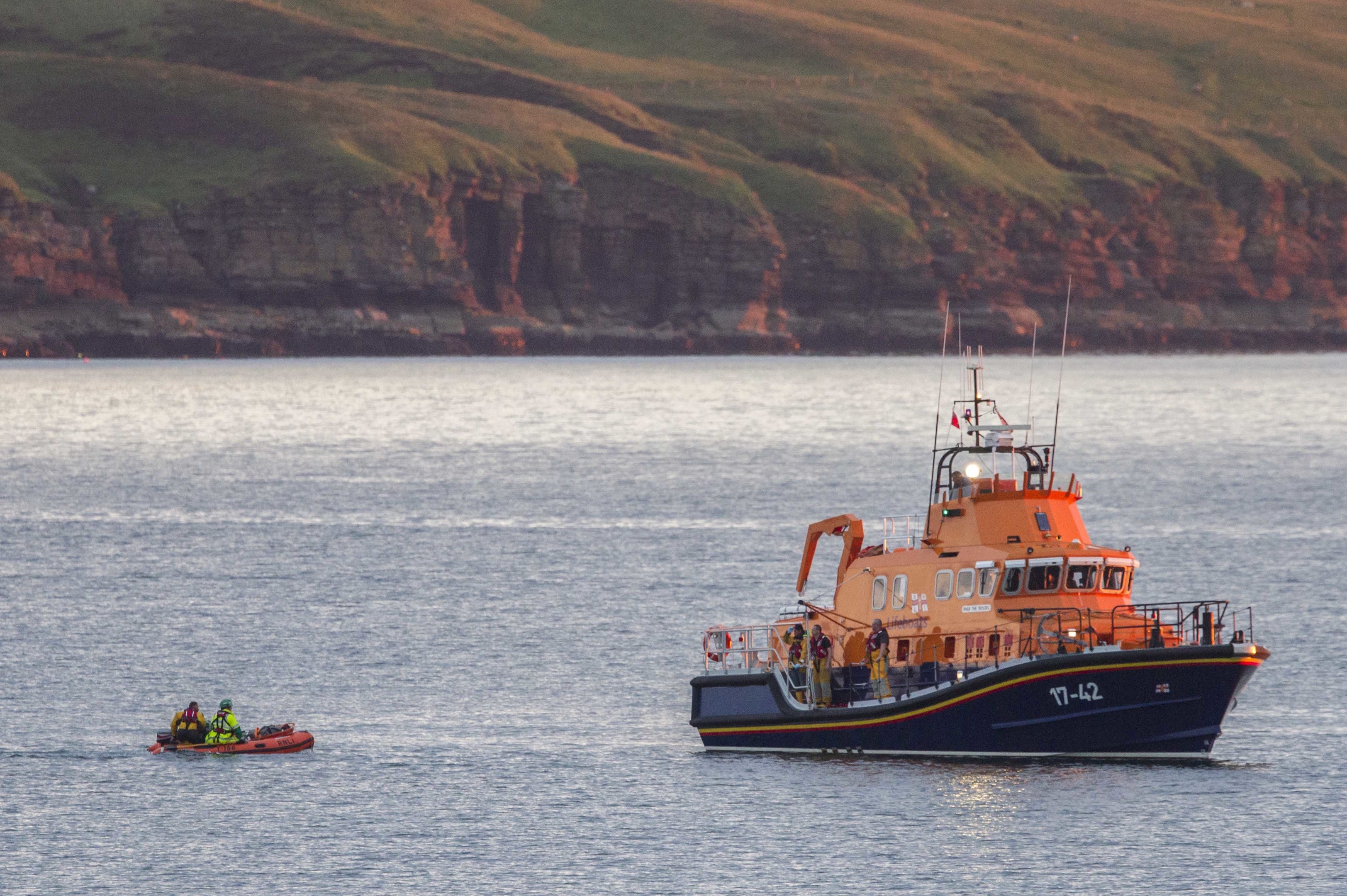 Lifeboat off Thurso