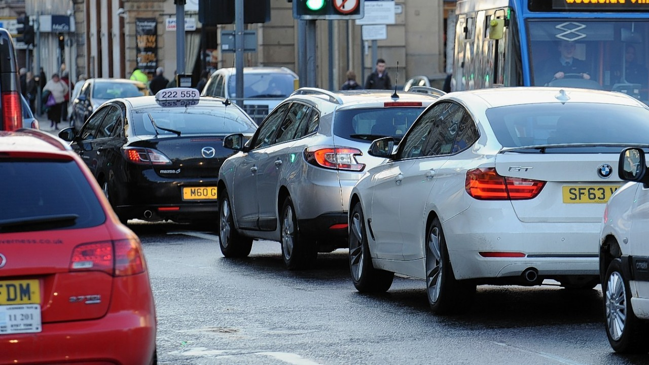 Inverness road are expected to be busier than usual this weekend