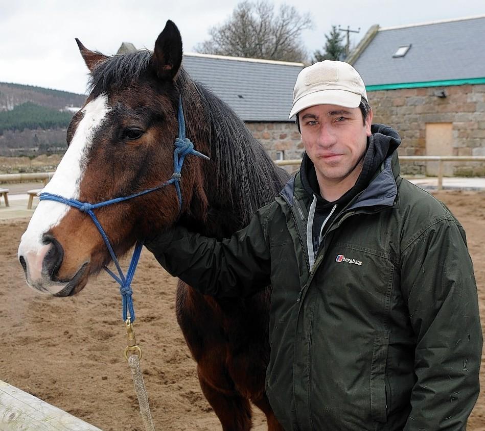 Jay Hare at Horseback UK, Aboyne