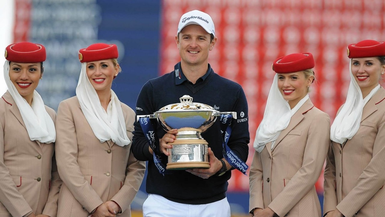 Justin Rose emerged victorious at the Scottish Open in Aberdeen