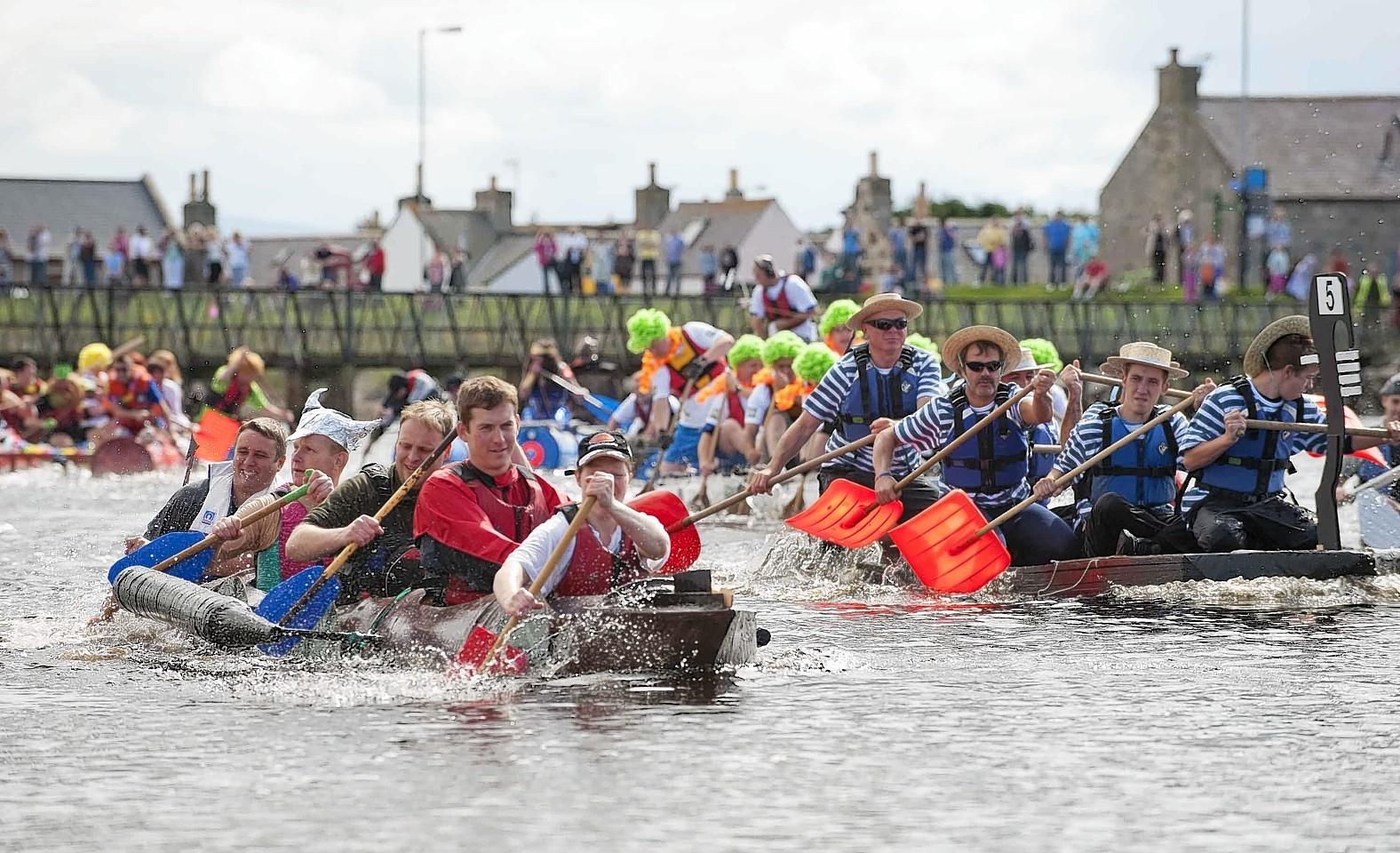 Lossiemouth Raft Race