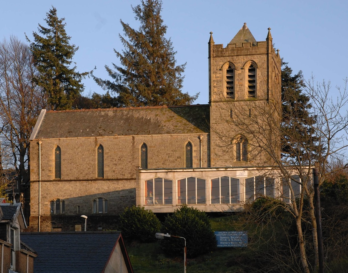 MacIntosh Memorial Church in Fort William