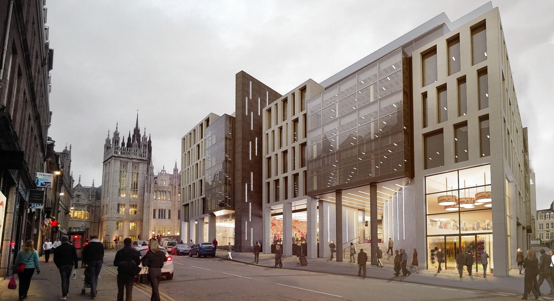 Muse Developments' Marischal Square plans
