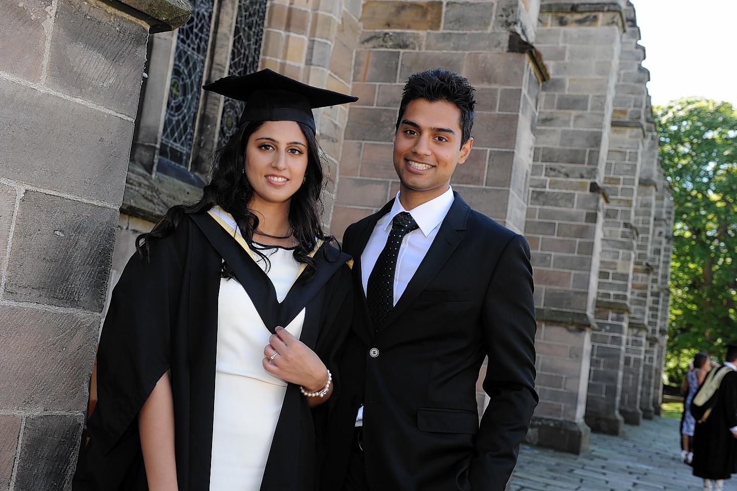 Nadia Rasul and Hassan Raja