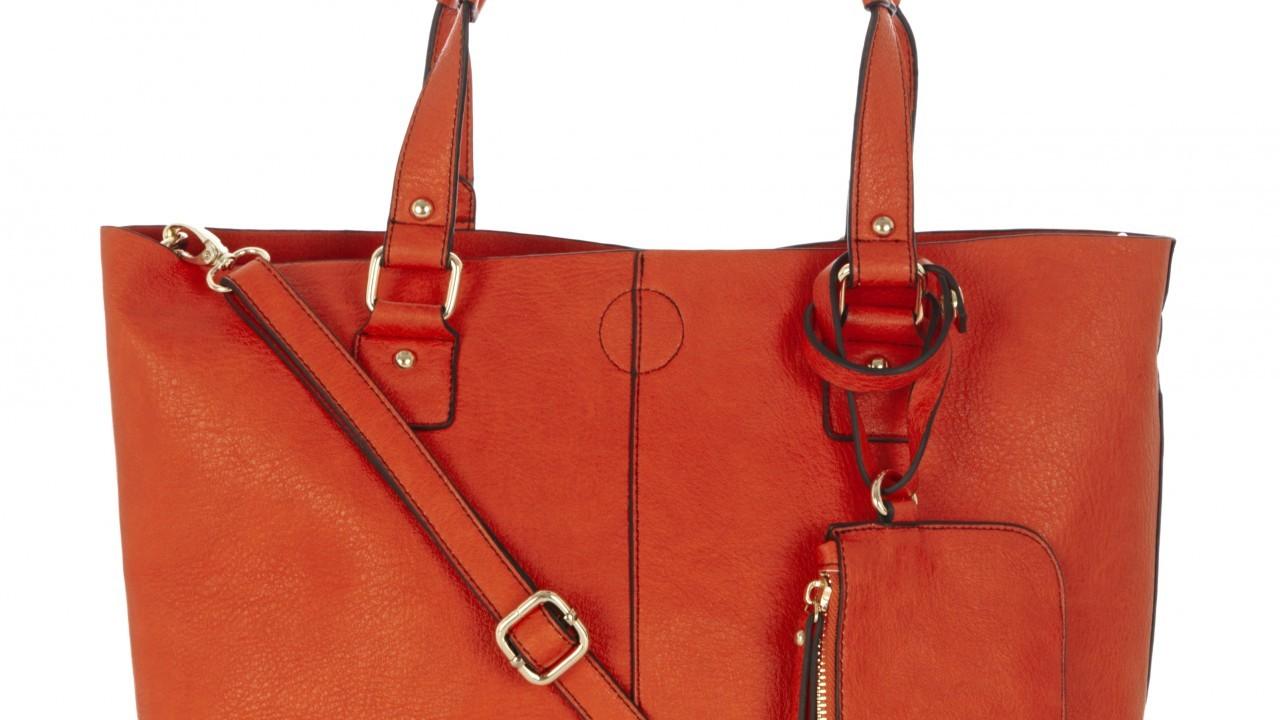 Oasis orange sindy shopper, £38, Bon Accord & St Nicholas