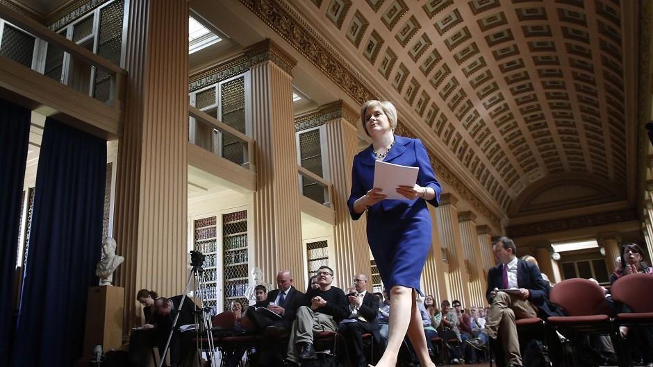 Sturgeon has claimed the honour of Scotland's top politician twice