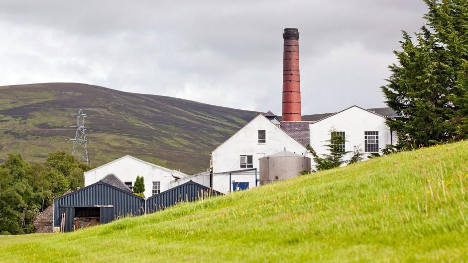 Balmenach Distillery on Speyside