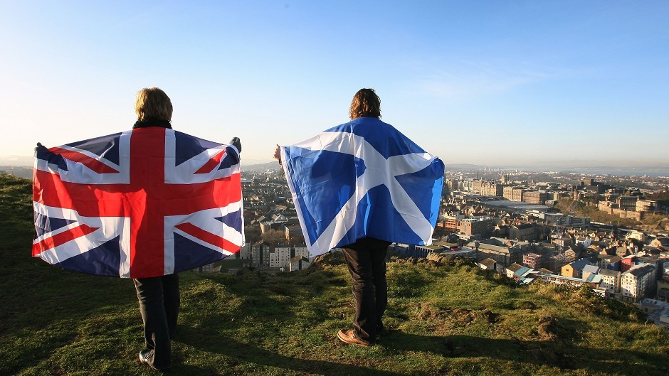 A poll has shown that the vast majority of Scots living in the USA would reject  independence if they had the vote.