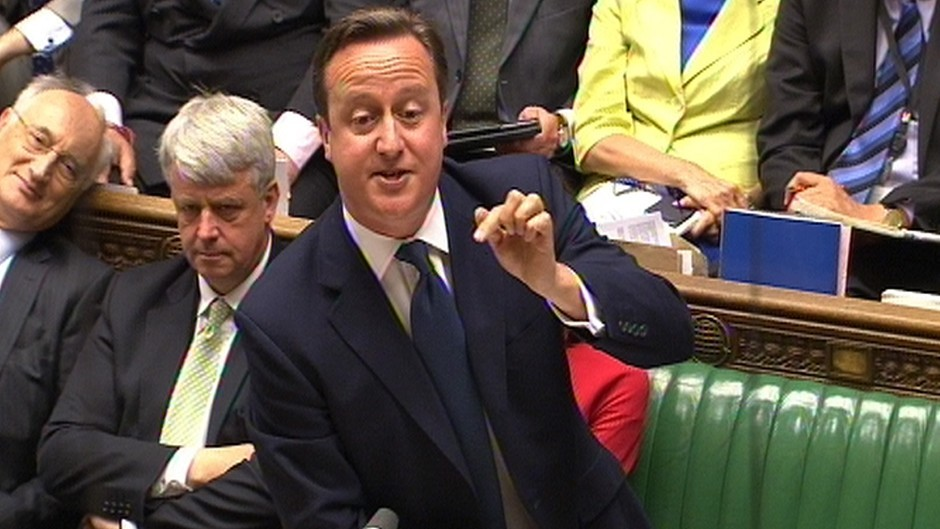 David Cameron claimed A&E waiting times were getting shorter