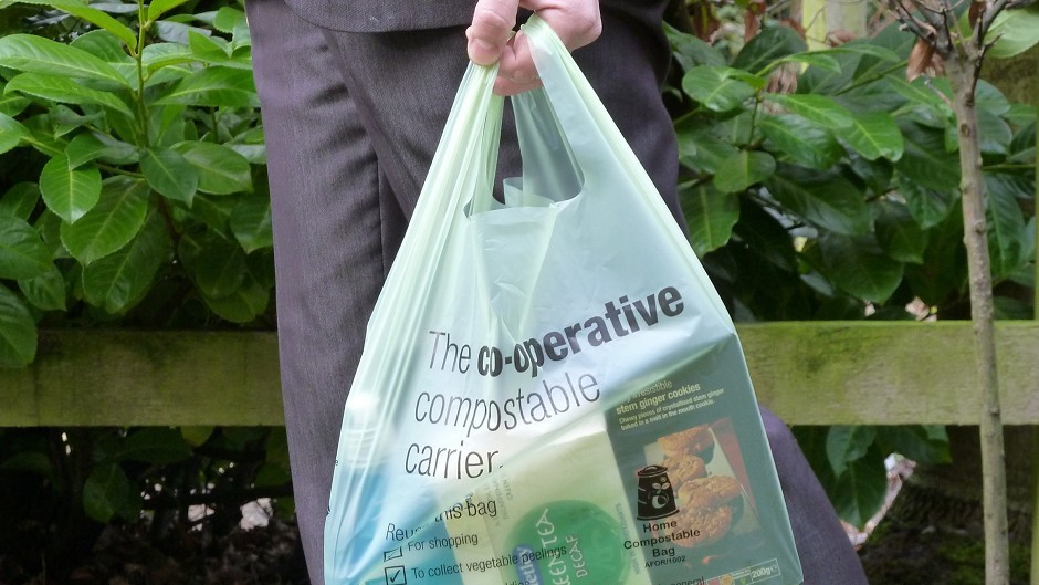 Shops will be required to charge 5p for every single use carrier bag from today.