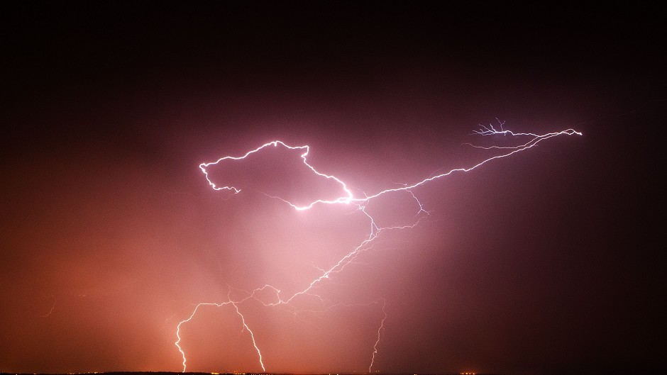 Two dead after lightning strikes
