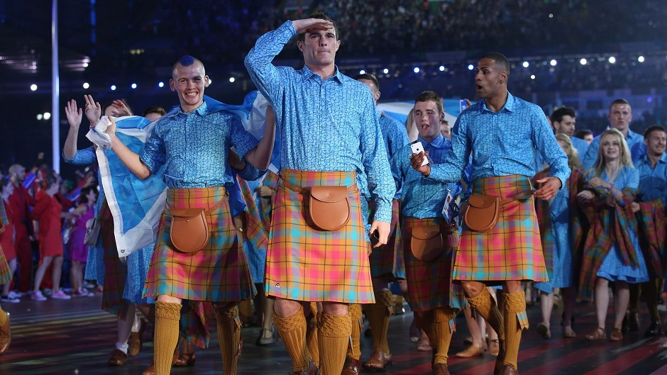 The Team Scotland kilt has boosted one Moray firm