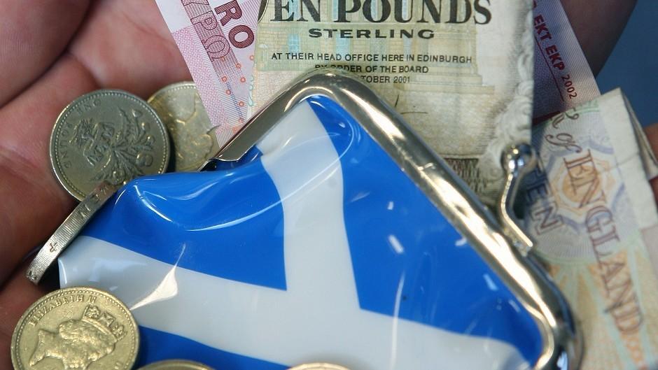 Scotland's economy grows, according to new figures.